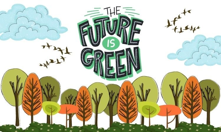 Earth day: Sustainability is the future of the planet and humankind.